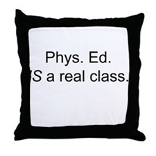 Funny Physical sports Throw Pillow