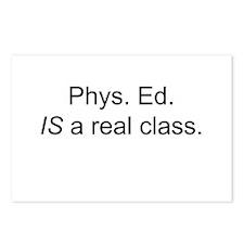 Cute Phys ed teacher Postcards (Package of 8)