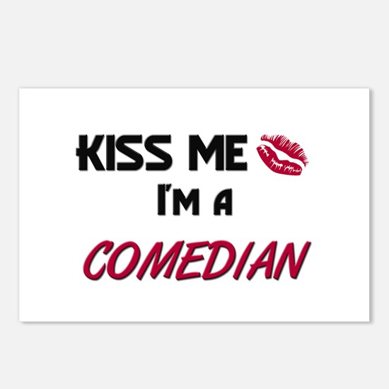 Kiss Me I'm a COMEDIAN Postcards (Package of 8)