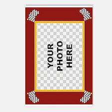 Custom Racing Frame Postcards (Package of 8)