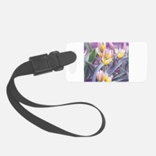 Spring Tulips Luggage Tag