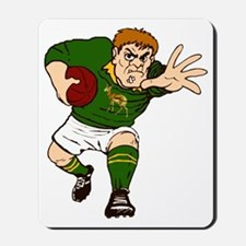 Springboks Rugby Player Mousepad