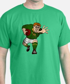 Springboks Rugby Player T-Shirt