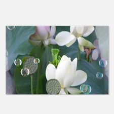 Lotus with Mantis Postcards (Package of 8)