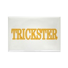 Halloween Trickster Rectangle Magnet