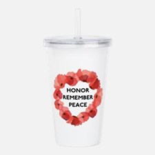 Remembrance Day Acrylic Double-wall Tumbler
