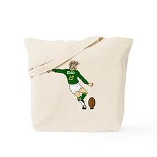 Springbok Rugby Fullback Tote Bag
