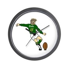 South africa rugby clocks south africa rugby wall clocks for Modern wall clocks south africa