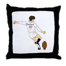 England Flyhalf Throw Pillow