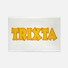 Funny Halloween Trixta Rectangle Magnet