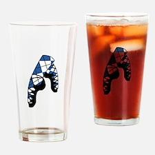 Scottish Dance Shoes Drinking Glass