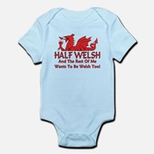 ...Half Welsh... Body Suit