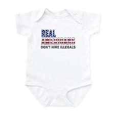 Real Americans Infant Bodysuit