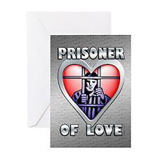 Prisoner... Greeting Card