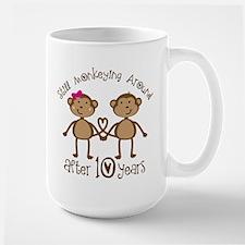 10th Anniversary Love Monkeys Mugs