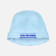 Save the Ocean baby hat