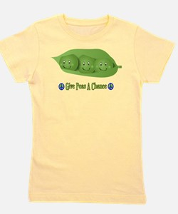 Cute Peas in a pod Girl's Tee