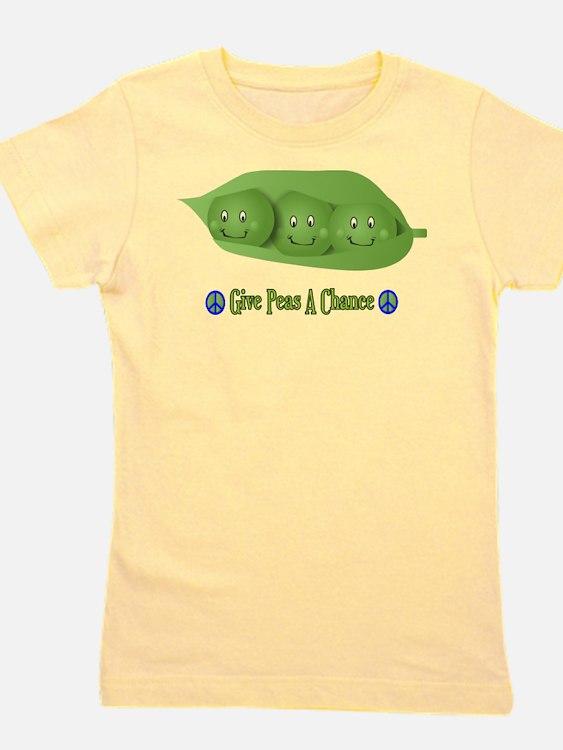 Cute Peas Girl's Tee