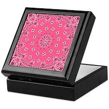Pink Bandana Keepsake Box