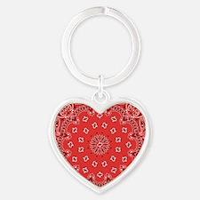 Red Bandana Keychains