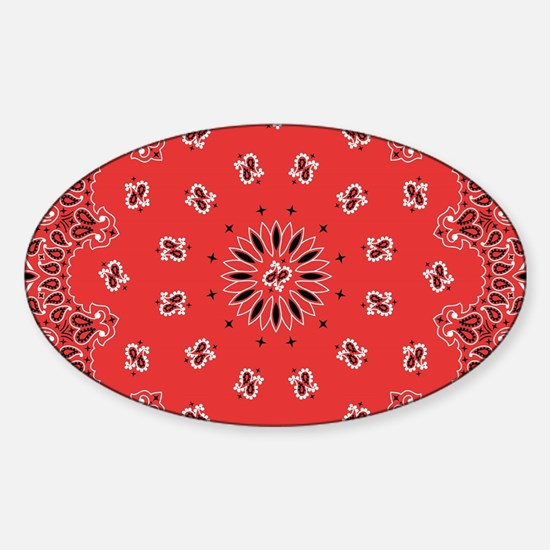 Red Bandana Decal