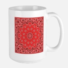 Red Bandana Mugs