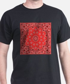 Red Bandana T-Shirt