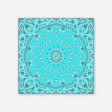 Turquoise Bandana Sticker