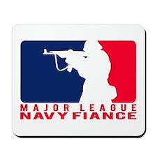 Major League Fiance - NAVY Mousepad