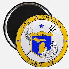Uss Michigan - Ssbn 727 - Magnets