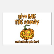 Give Me The Candy Postcards (Package of 8)