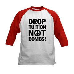 Drop Tuition Not Bombs! Tee