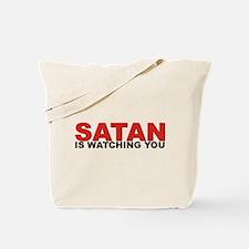 Satanist Tote Bag