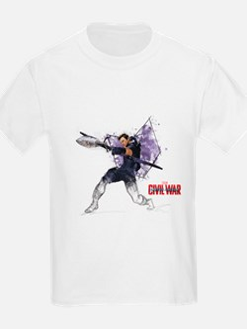 Hawkeye Sketch - Captain Americ T-Shirt