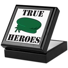 True Heroes Green Beret Keepsake Box