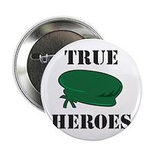 True Heroes Green Beret Button