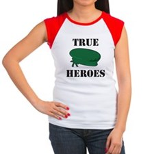 True Heroes Green Beret Women's Cap Sleeve T-Shirt