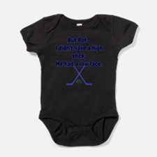 Unique Ice hockey canada Baby Bodysuit