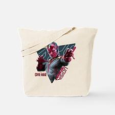 The Vision Triangle - Captain America: Ci Tote Bag