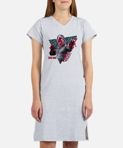 The Vision Triangle - Captain A Women's Nightshirt