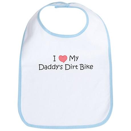 Love My Daddys Dirtbike Bib