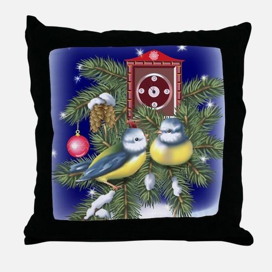 Season Greetings Throw Pillow