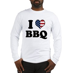 4th of July BBQ Long Sleeve T-Shirt