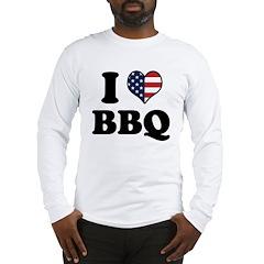 4th of July BBQ Long Sleeve T-Shirt