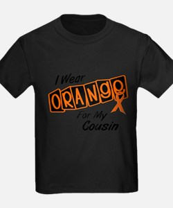 I Wear Orange For My Cousin 8 T-Shirt