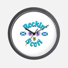 Rockin' Scott. Wall Clock