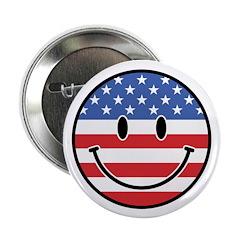 Patriotic Smiley 2.25