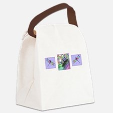 Dragonfly Trio Canvas Lunch Bag