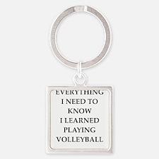 volleyball joke Keychains