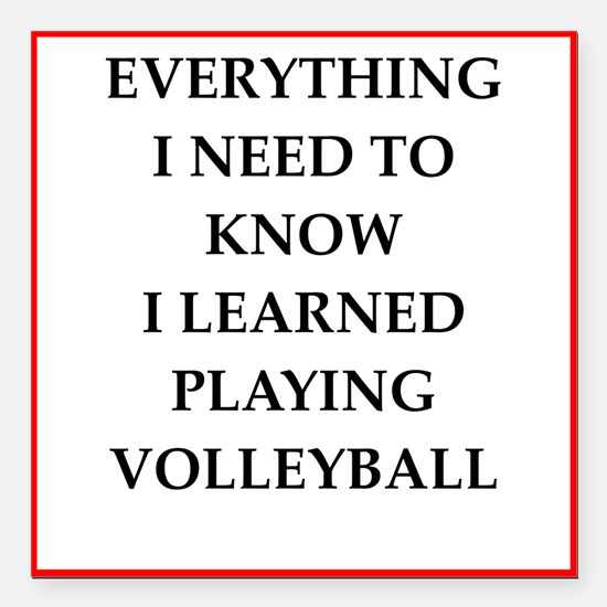Funny Volleyball Car Magnets CafePress - Custom sport car magnetsvolleyball car magnet custom magnets for volleyball players